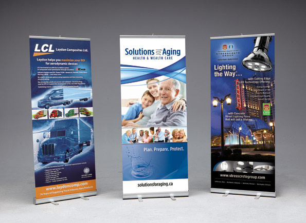 Expo Stand Banner : Trade show displays exhibits « meyer signs interior